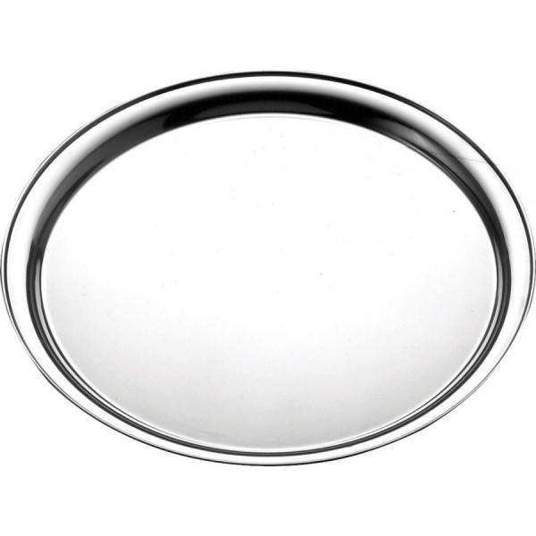 Поднос круглый железный D=400 мм