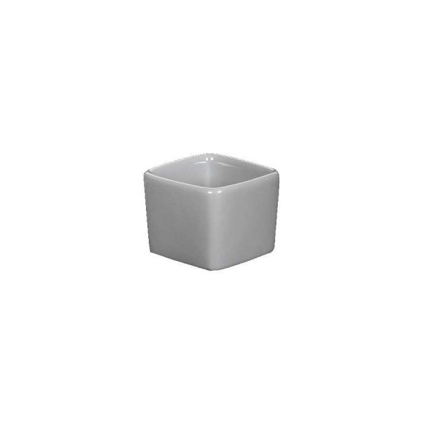 Ёмкость для соуса Куба квадратная глубокая серая 55*55 мм V=50 мл