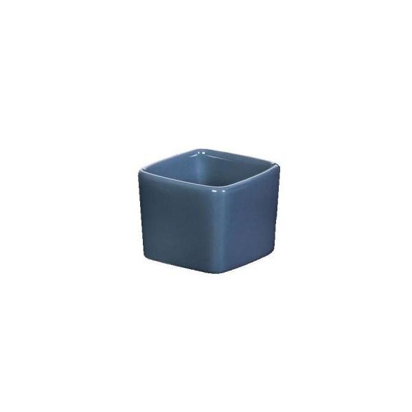 Ёмкость для соуса Куба квадратная глубокая синяя 55*55 мм V=50 мл