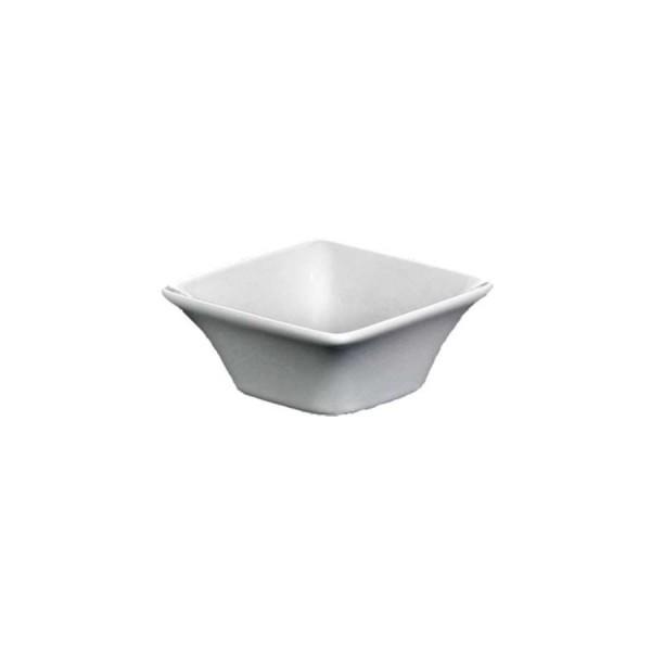 Блюдце для соуса Квадро серое 72*72 мм V=70 мл