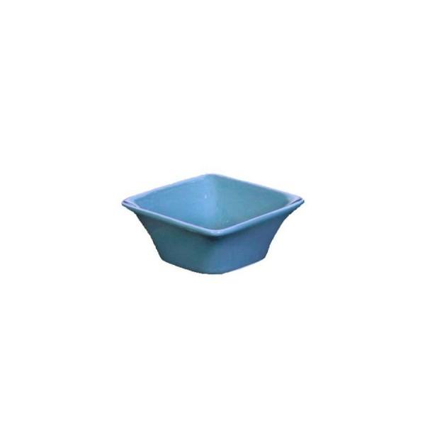 Блюдце для соуса Квадро синее 72*72 мм V=70 мл