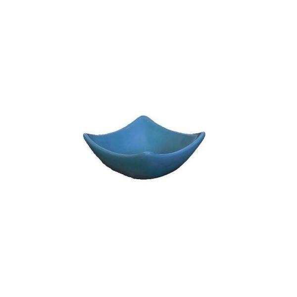 Блюдце для соуса Tulip синее 75*73 мм Н=30 мм V=70 мл