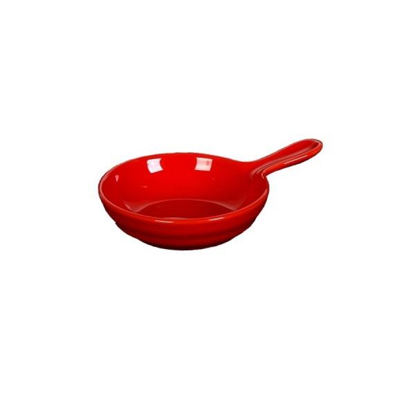 Сковорода для запекания с ручкой Corone красная D=80 мм V=50 мл