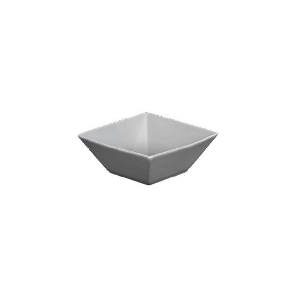 Салатник квадратный серый L=100 мм V=200 мл