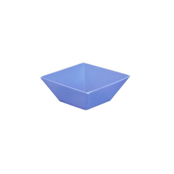 Салатник квадратный синий L=100 мм V=200 мл