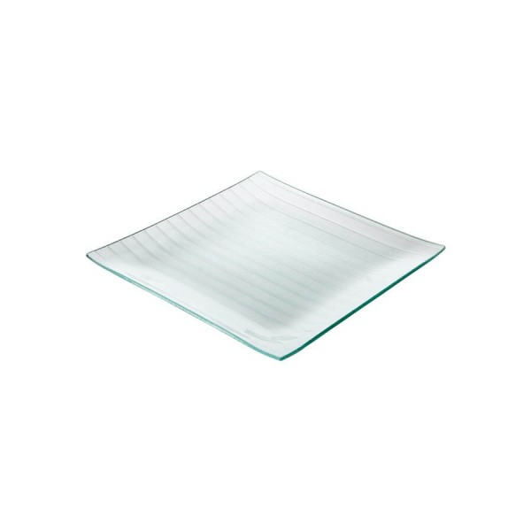 Тарелка стеклянная квадратная L=300 мм