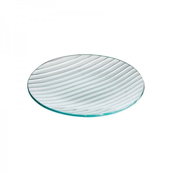 Тарелка стеклянная круглая D=200 мм