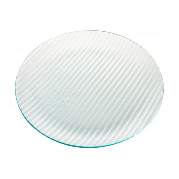Тарелка круглая стеклянная D=300 мм