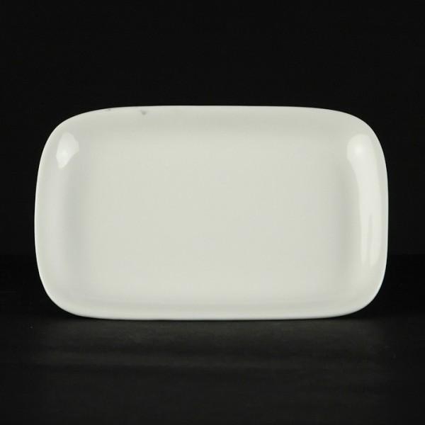 Блюдо прямоугольное Chan Wave Ivory 210*130*20 мм