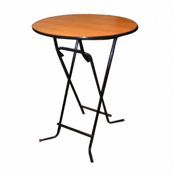 Стол коктейльный деревянный 1,1*0,7 м