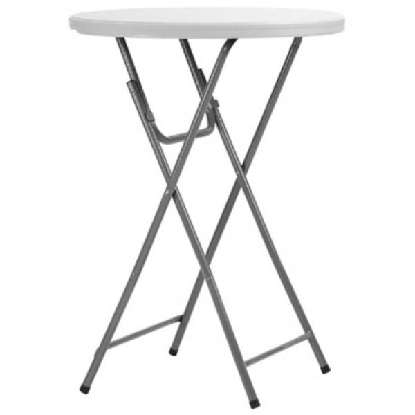 Стол коктейльный пластиковый 1,1*0,8 м