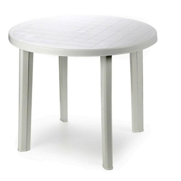 Стол пластиковый для летних мероприятий H=750 мм D=900 мм