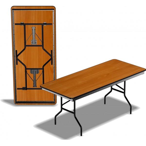 Стол прямоугольный Стелс 1,8*0,8 м
