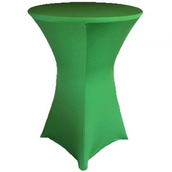 Чехол для коктейльного стола зелёный (обтягивающий - стрейч)