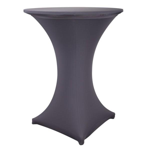 Чехол для коктейльного стола серый (обтягивающий - стрейч)