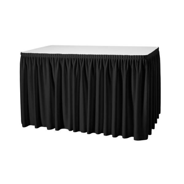 Фуршетная юбка 5.6 м чёрная