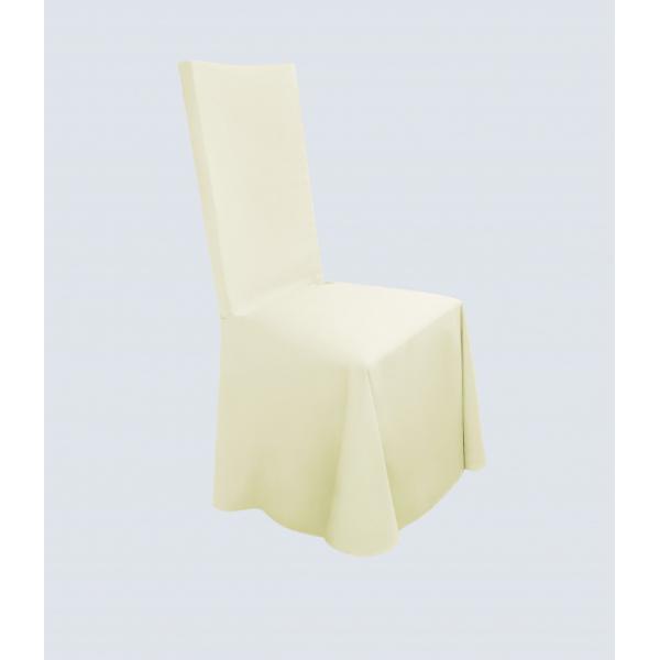 Чехол для стула бежевый универсальный