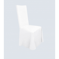 Чехол для стула белый универсальный
