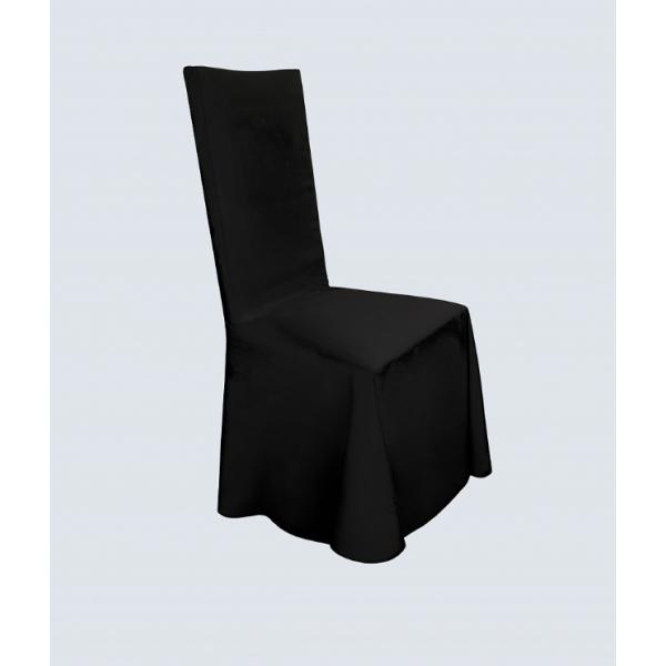 Чехол для стула чёрный универсальный