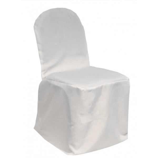 Чехол для стула белый