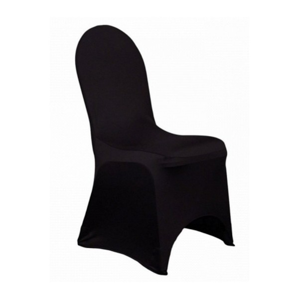 Чехол для стула чёрный (стрейч)