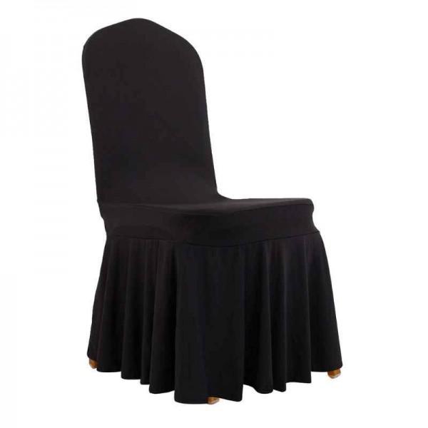 Чехол для стула чёрный