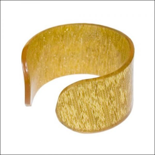 Кольцо для салфеток золотое