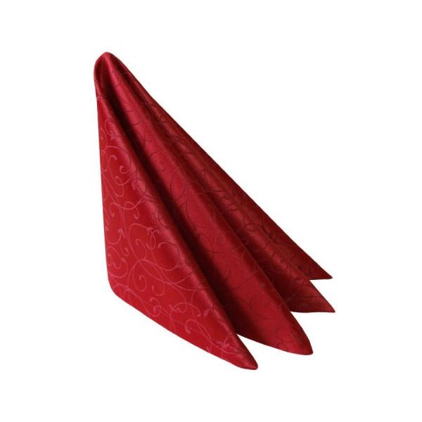 """Салфетка бордовая """"Жаккард"""" 45х45 см"""