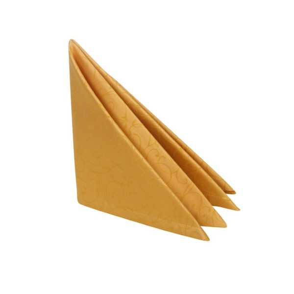 "Салфетка золотая ""Жаккард"" 45х45 см"