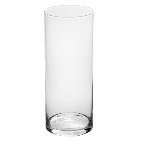 Ваза для цветов Glass стеклянная Н=300 мм D=120 мм