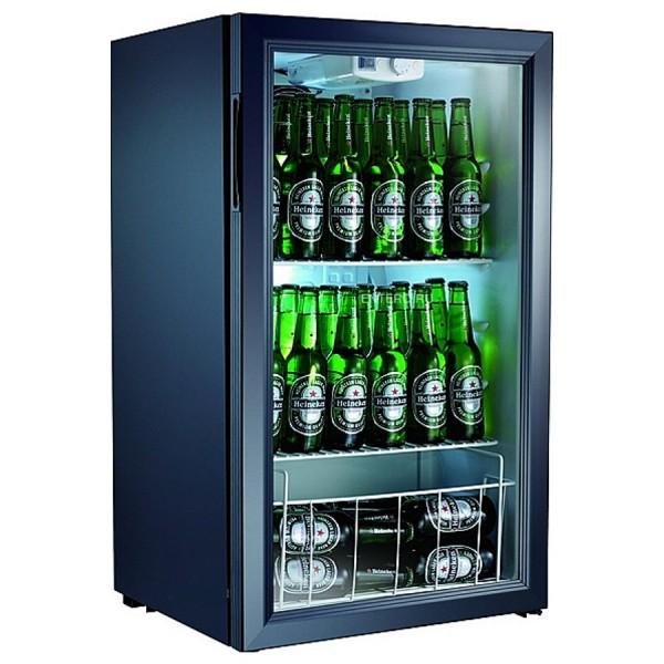 Шкаф холодильный Gastrorag BC98-MS витринного типа  V=98 л.   480*475*850 мм