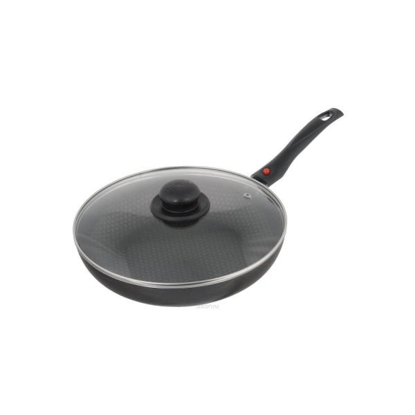 Сковорода с крышкой H=45 мм D=260 мм