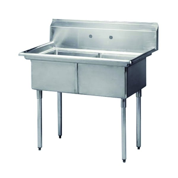 Ванна моечная 2-секционная 1041*597*1111 мм