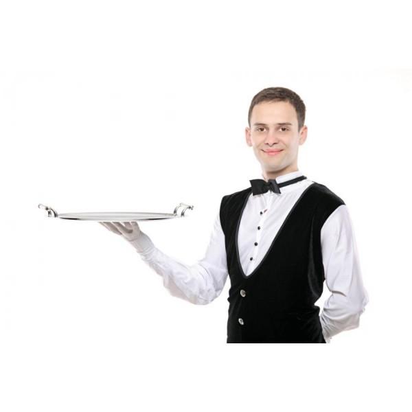Официант для кейтеринга. Цена указана за 1 час (минимальная оплата за 10 часов работы)