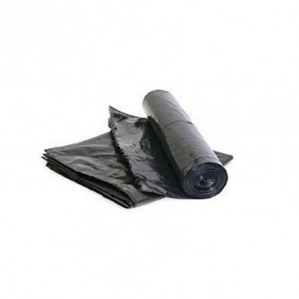 Мешки мусорные чёрные. 10 штук. V=240 л.