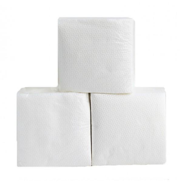 Салфетка бумажная белая 240*240 мм
