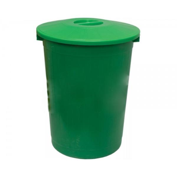 Бак мусорный V=80 л.