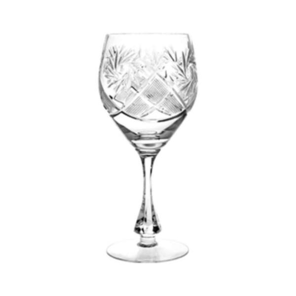 Бокал для вина Мельница хрустальный D=80 мм H=195 мм V=300 мл