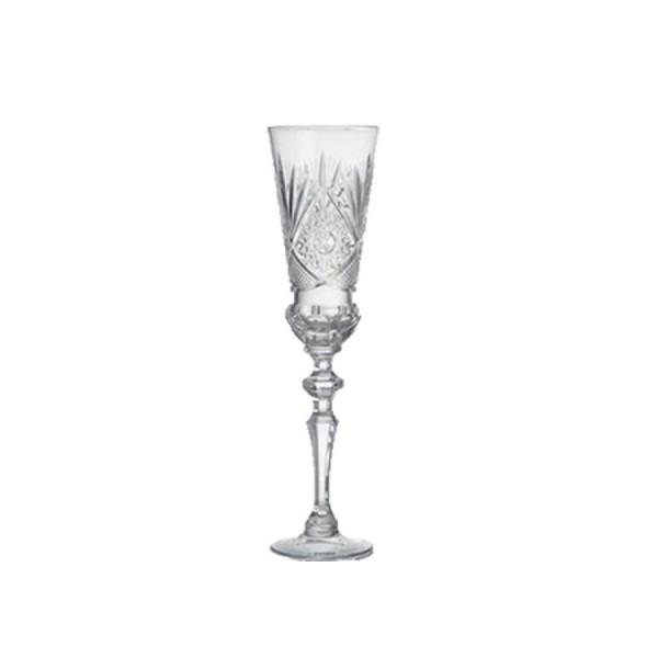 Бокал Флюте для шампанского хрустальный D=55 мм H=170 мм V=190 мл