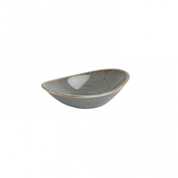 Соусник Porland темно-серый 110*70 мм