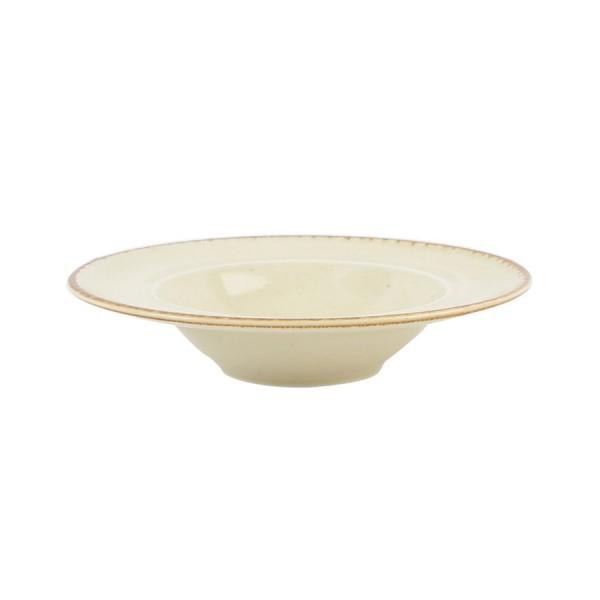 Тарелка Porland для пасты бежевая D=310 мм