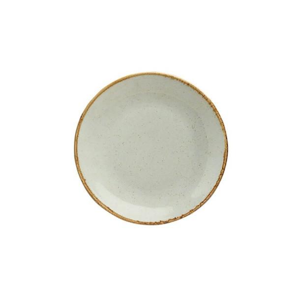 Тарелка Porland закусочная бежевая D=240 мм