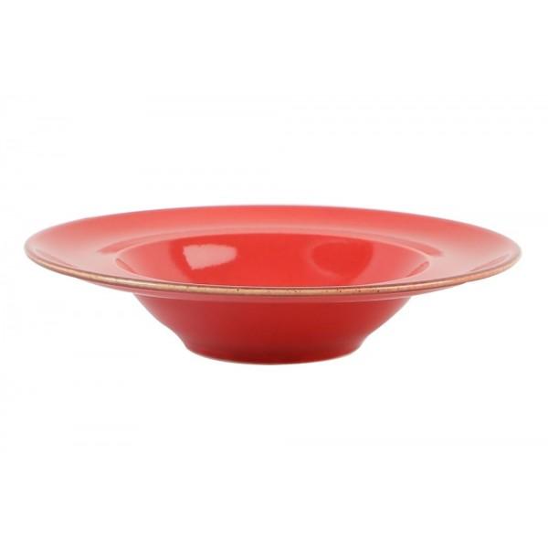 Тарелка Porland для пасты красная D=310 мм