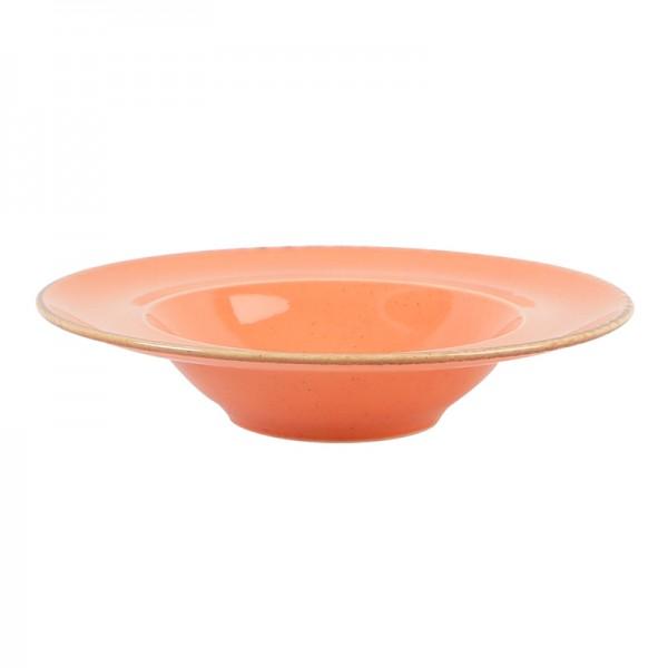 Тарелка Porland для пасты оранжевая D=310 мм