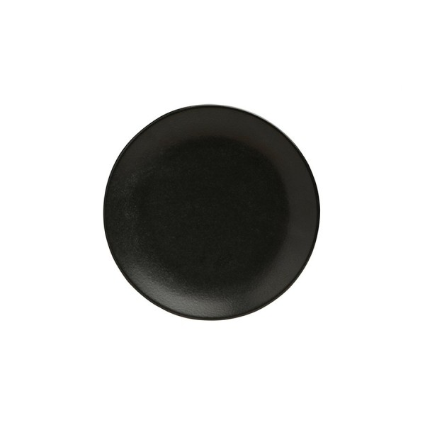 Тарелка Porland пирожковая чёрная D=180 мм