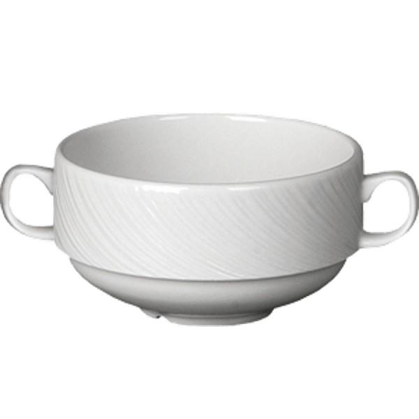 Чашка бульонная с 2-мя ручками Steelite Spyro V=295 мл D=100 мм H=40 мм