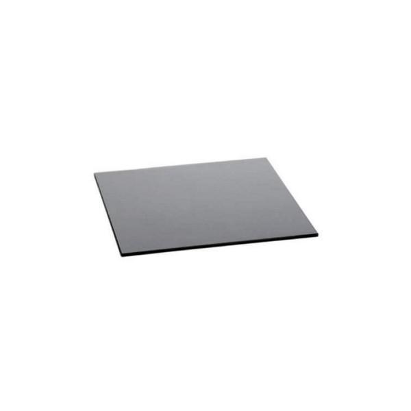Поднос прямоугольный Zeiher из чёрного стекла 500*340 мм