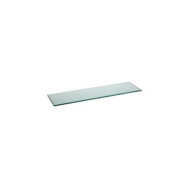 Поднос прямоугольный Zeiher из прозрачного стекла 800*210 мм