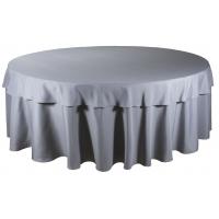 Наперон для круглого стола 2,2 м серый