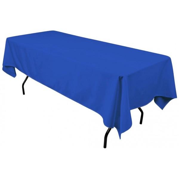 Скатерть прямоугольная 1,4 x 2,4 м синяя